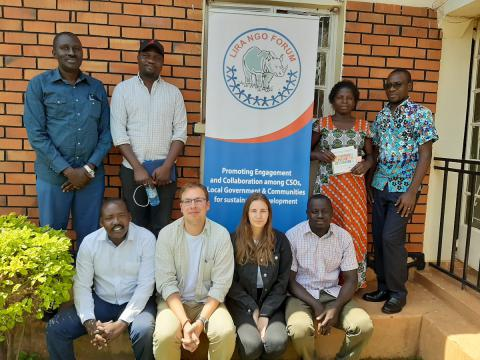 UNNGOF hosts CSO actors from Lithuania NGDO Platform