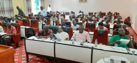 UNNGOF Trains Observers to Monitor the Electoral Commission Voters' Update Exercise